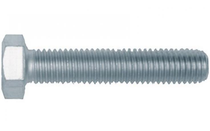 DIN 933, KL 8.8, ocynk