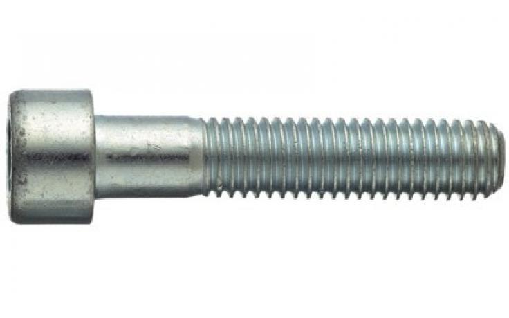 DIN 912|ISO 4762, KL 8.8, ocynk