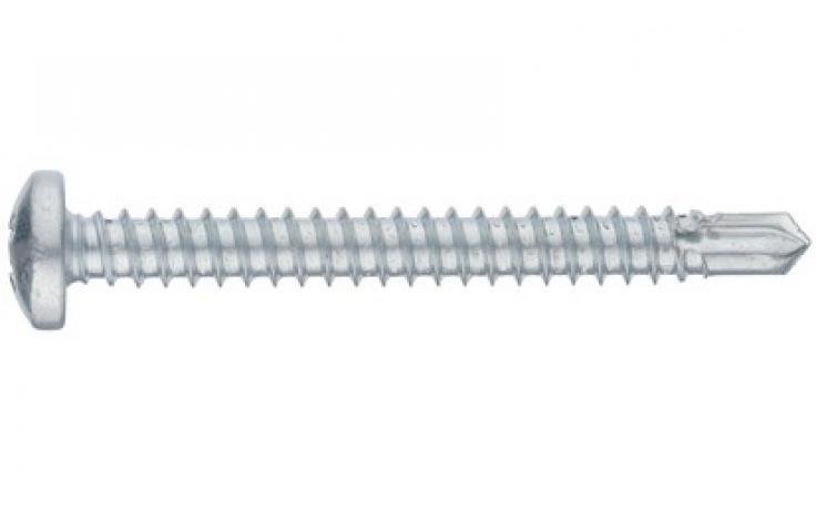 DIN 7504-N, stal, ocynk