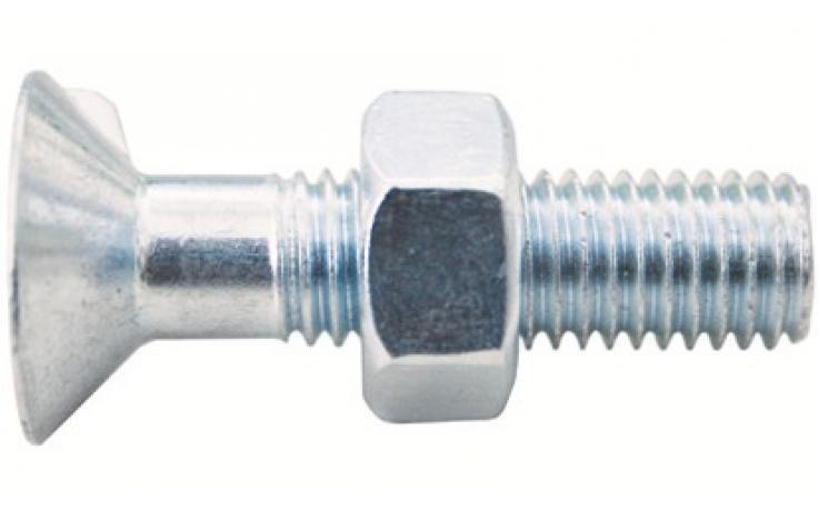DIN 604, KL 4.6, ocynk