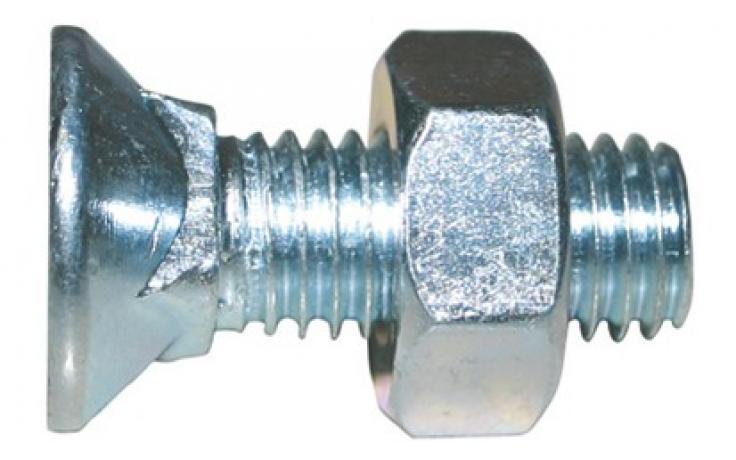 DIN 608, KL 4.6, ocynk