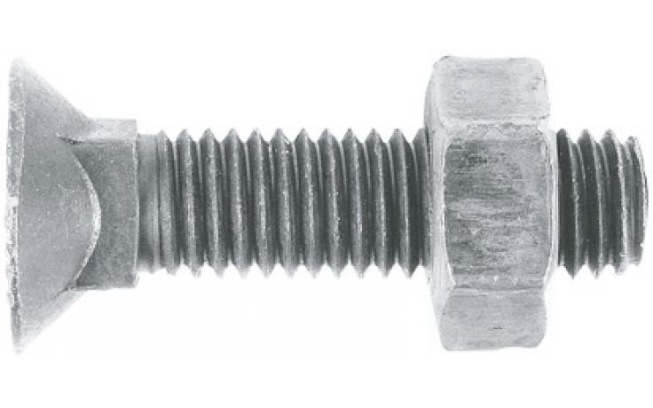 DIN 608, KL 10.9, flZnnc-720h