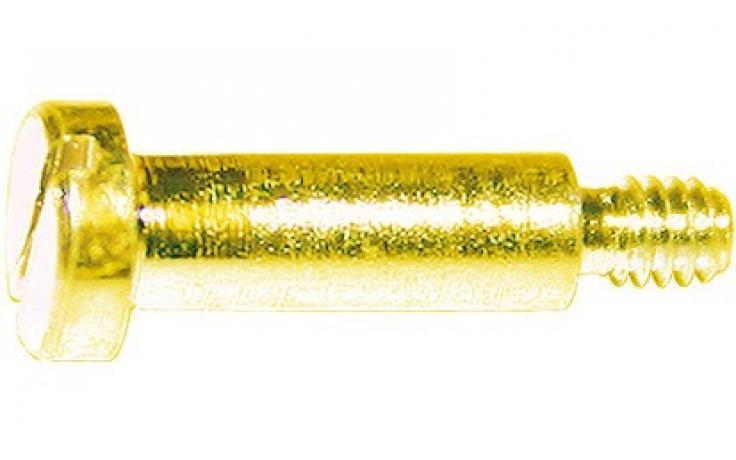 DIN 923, stal, KL 5.8, żółty ocynk