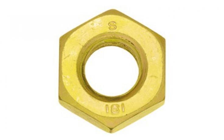 stal, KL 8, drobnozwojny, żółty ocynk
