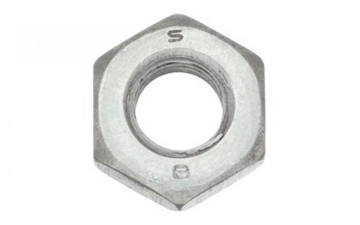 ISO 4032, stal, KL 8, ocynk