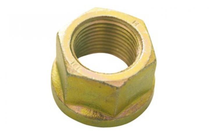 Forma B, płaski, stal, KL 8, żółty ocynk