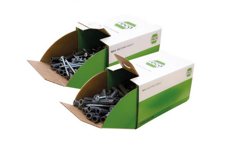 kołki do szybkiego montażu RND/SPAN w pudełku
