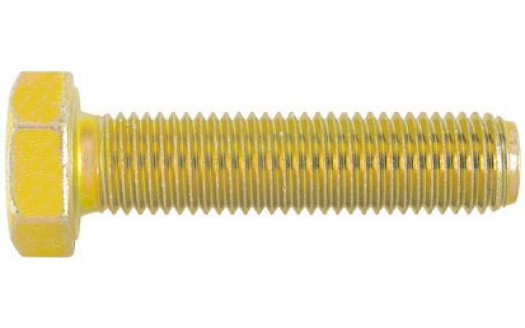 DIN 961, KL 8.8, żółty ocynk