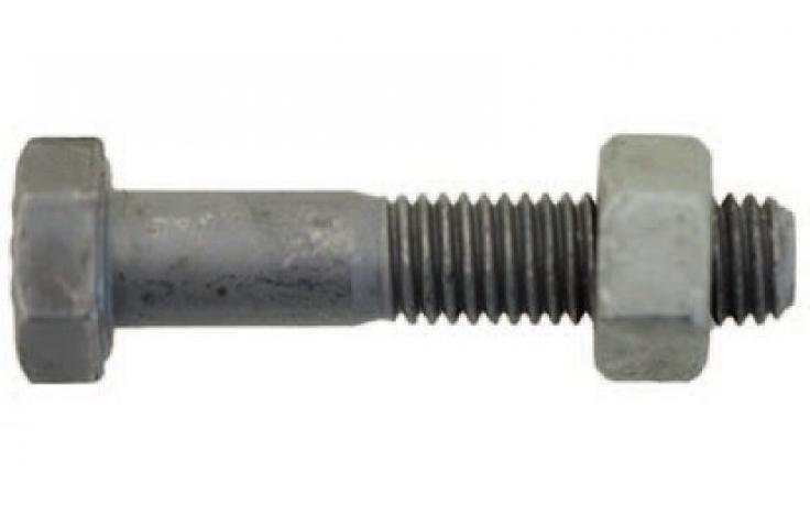 ISO 4014|4032, KL 8.8|8, ocynk ogniowy, EN 15048, CE