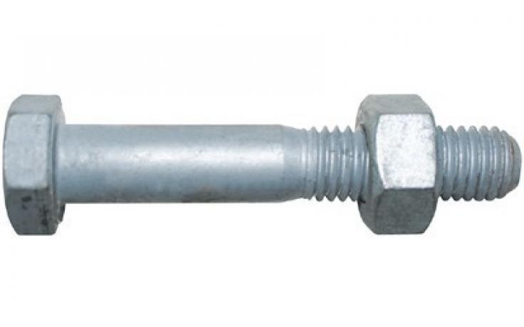 DIN 601, KL 4.6, ocynk ogniowy