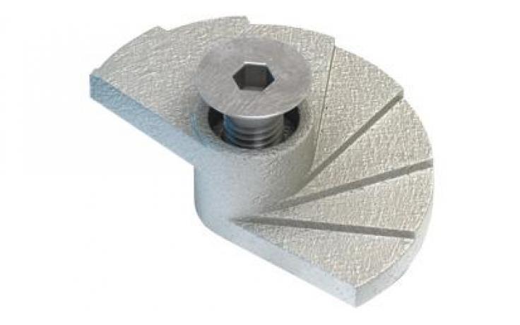 Typ FF żeliwo ciągliwe, ocynk galwaniczny
