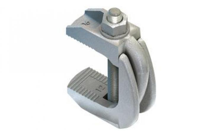 Typ F9 (ze śrubą) żeliwo ciągliwe, ocynk galwaniczny