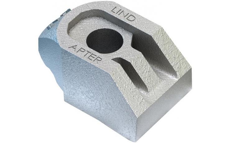 Typ AF żeliwo sferoidalne, ocynk ogniowy