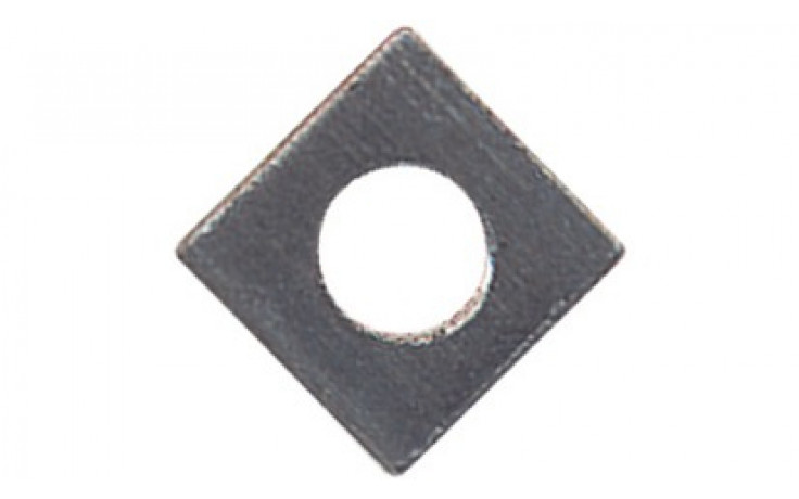 Vierkantmuttern M10 DIN 562 FKL 4 Stahl blank