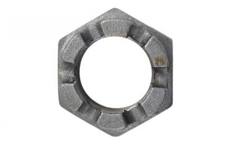 Kronenmuttern M12 DIN 979 FKL 04 Stahl blank