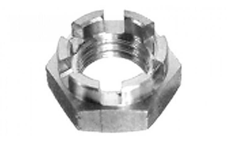 Kronenmuttern M30 x 1,5 DIN 937 (ISO 7038) FKL 17H Stahl verzinkt