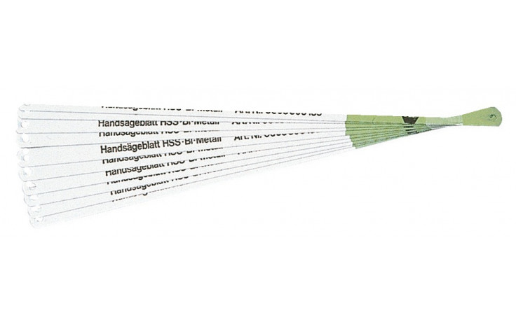 RECA Handsägeblatt Bi-Metall 300 x 13 x 0,65 mm 24 Zähne pro Zoll