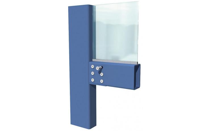 Lindapter® Hollo-Bolt Flush Fit Typ HBFF - Stahl - verzinkt blau - M10 X 50 - HBFF10-1