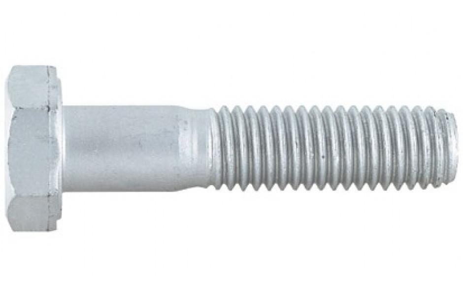 Sechskantschraube ISO 4014 - 10.9 - Zinklamelle silber - M8 X 100