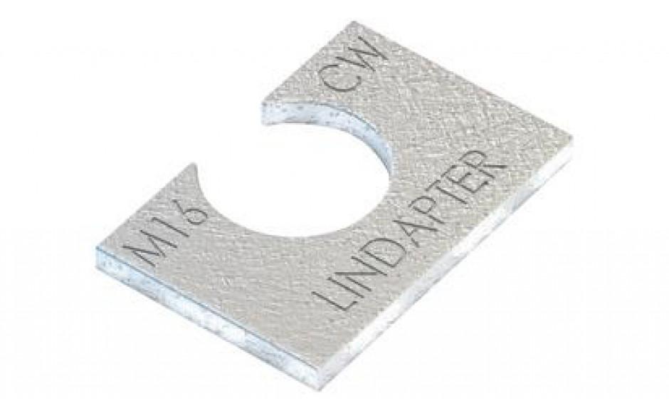 Lindapter® Unterlegscheibe Typ CW - Stahl - feuerverzinkt - CW24