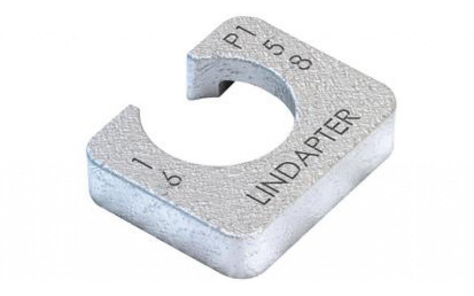 Lindapter® Unterlegscheibe Typ P1 - kurz - Stahl - feuerverzinkt - P1S24