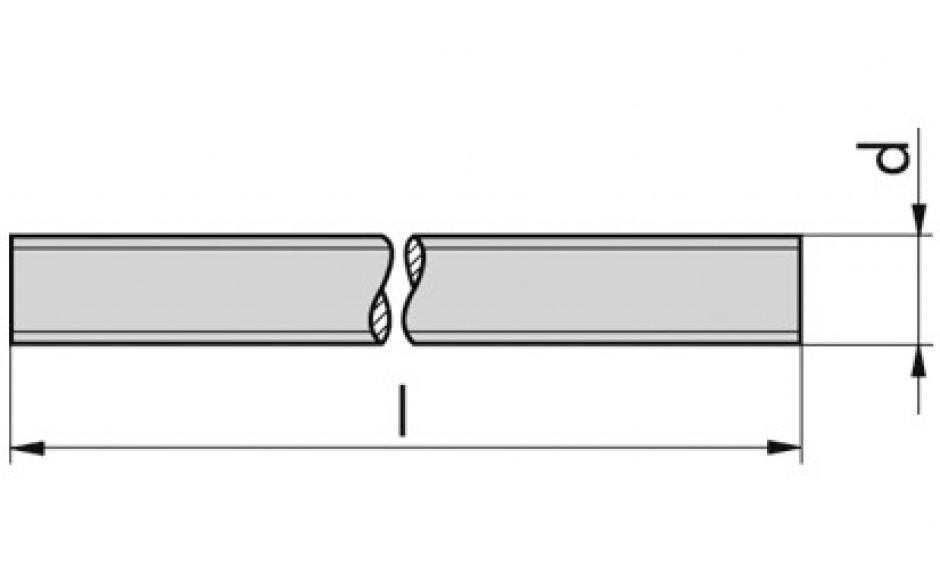 Gewindestange DIN 976-1-A - 8.8U - feuerverzinkt - M36 X 3000