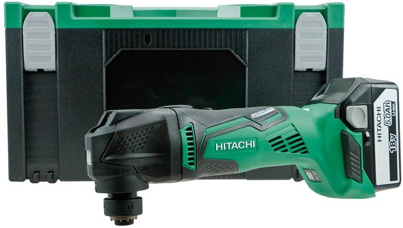 HITACHI Akku Multi Tool Cv18Dbl 2 x 5.0Ah Hsc