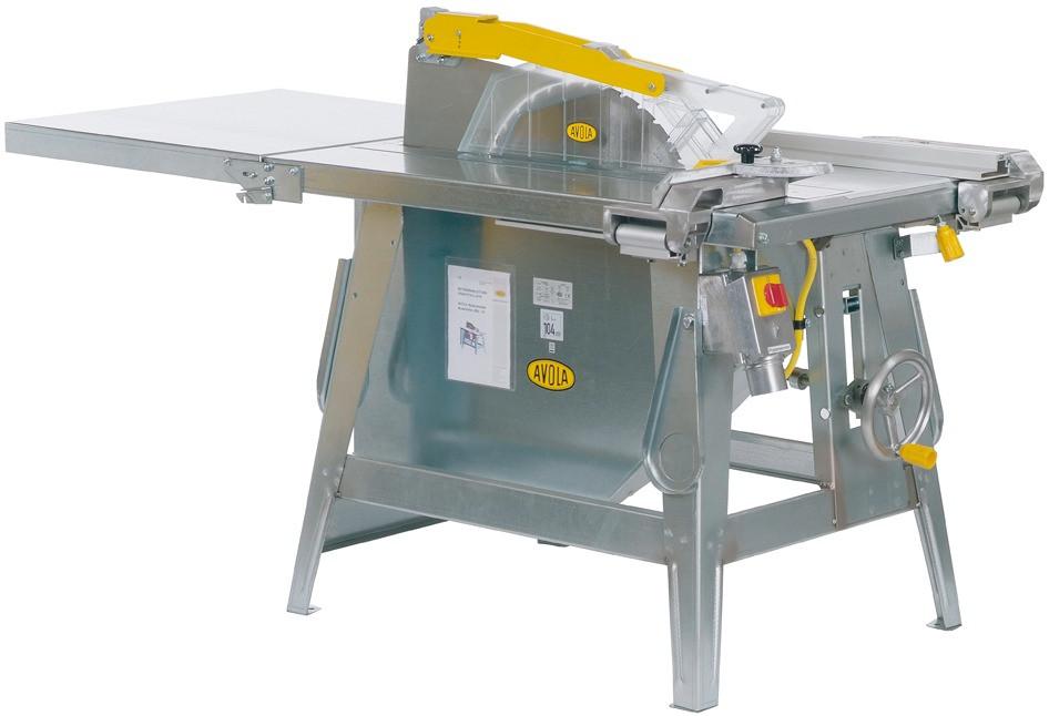 AVOLA Baukreissäge AVOLA IC 450, 4,2 kW, mit HM-Sägeblatt 450 mm, Schnitttiefe 153 mm