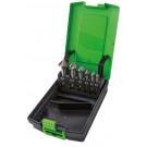 zestaw pogłębiaczy stożkowych DIN 335 HSS 90° 6-el (6,3-20,5 mm)