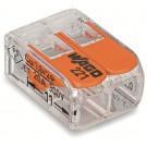 Wago 221 Compact-Verbindungsklemme 2 x 4 mm²