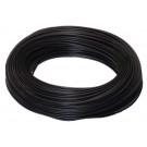 przewody okabl pcv H07V-K 1,5 czarne
