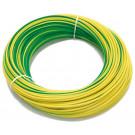 przewody okabl pcv H05V-K 1mm2 ziel./żół