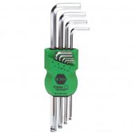 zestaw kluczy inbus kulka 1,5-10mm