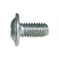 Linsenkopfschrauben mit Innensechskant und Bund ISO 7380-2 Edelstahl A2-070 M 6 x 35 mm